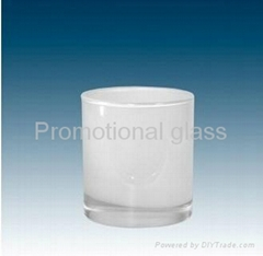 10OZ Sublimation Whiskey  whitte glass mug