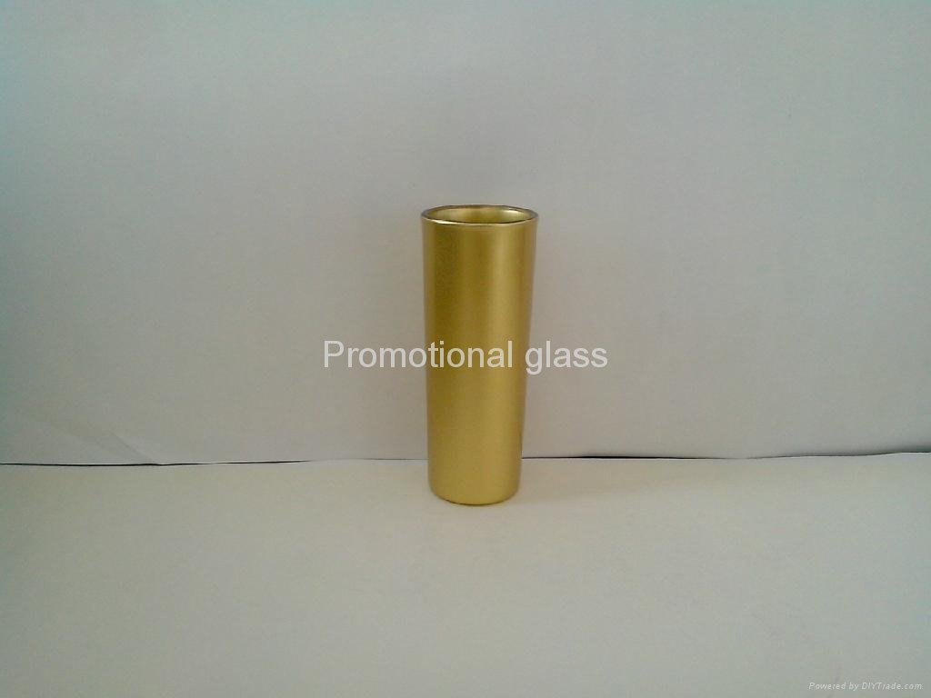 pearl finished t glass shooter mug 8