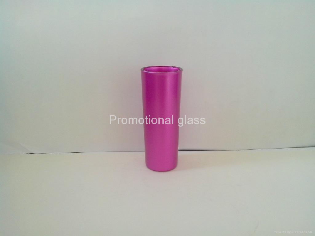 pearl finished t glass shooter mug 9