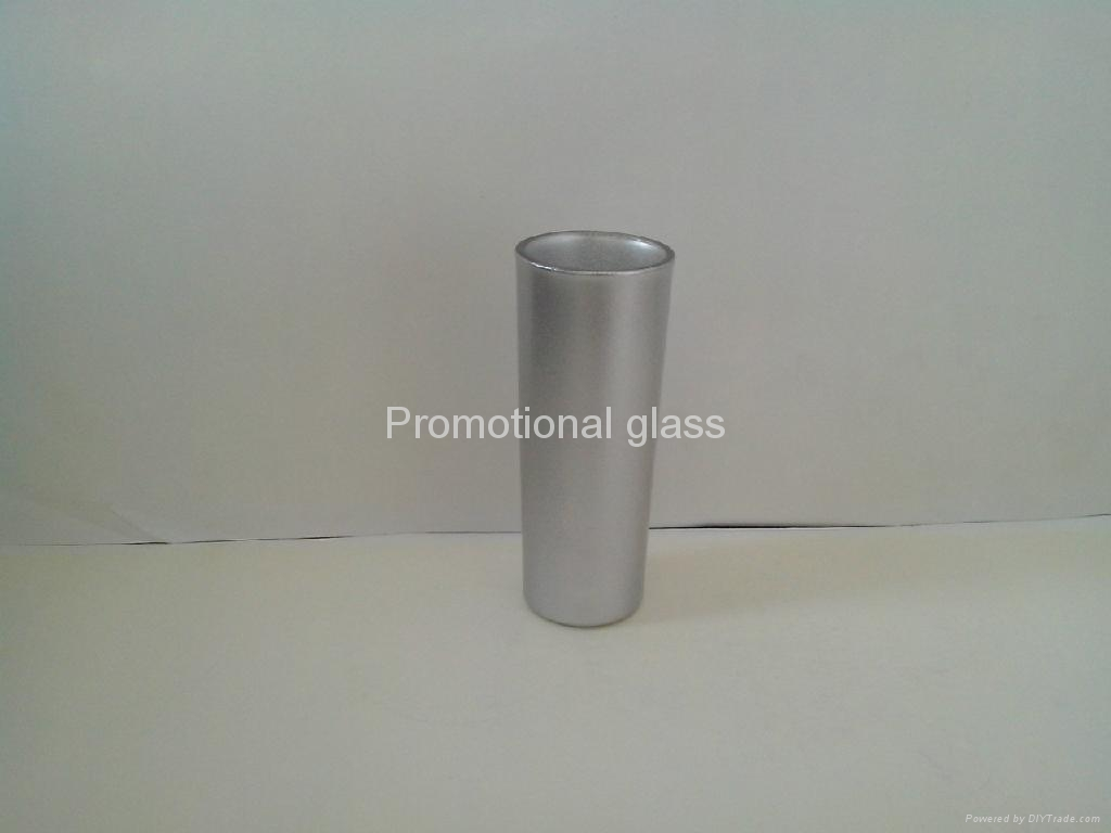 pearl finished t glass shooter mug 10