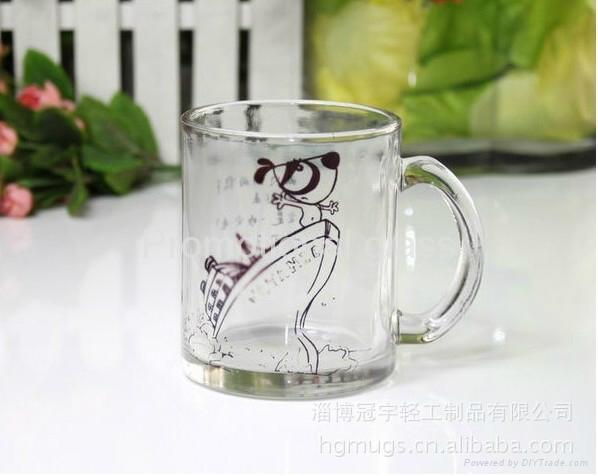 350ml sublimation glass mug 11oz 2