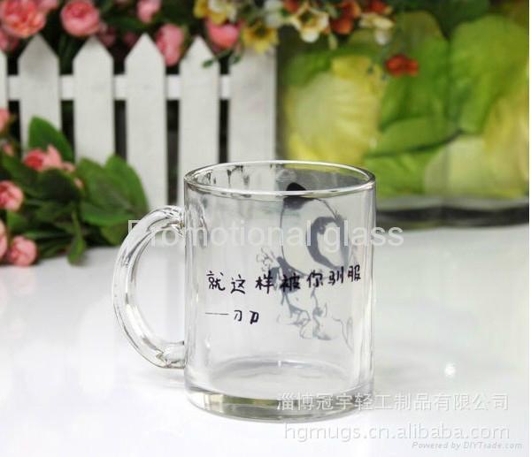 350ml sublimation glass mug 11oz 4