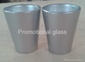 coating glass mug,  promotional shot