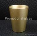 coating glass mug,  promotional shot  glass mug 2