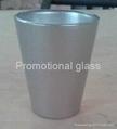 coating glass mug,  promotional shot  glass mug 3