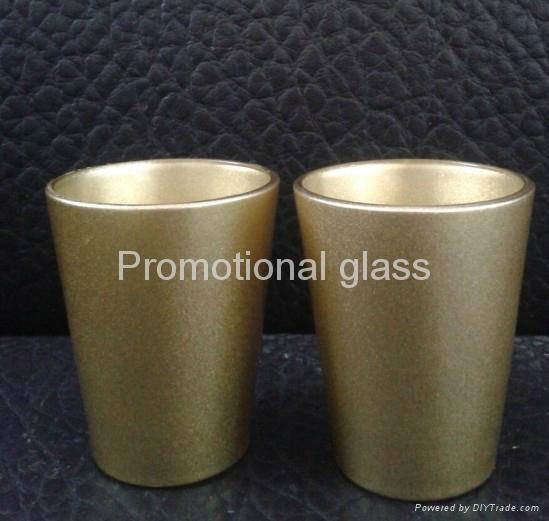 coating glass mug,  promotional shot  glass mug 4