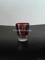 Electroplated  small wine glass ,promotional glass mug 2