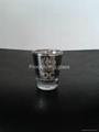 Electroplated  small wine glass ,promotional glass mug 3