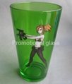 color coating glass mug  ,milk glass cup