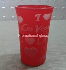 Glass tumbler cup,promotional glass cup