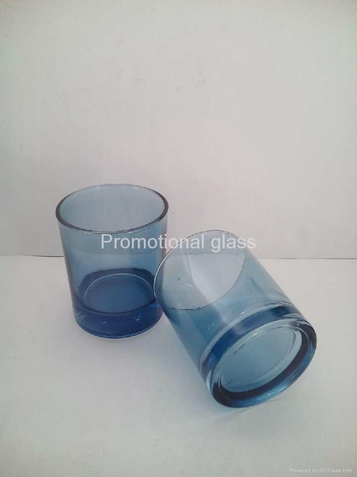 10OZ Sprayed whisky glass cup 1