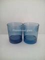 10OZ Sprayed whisky glass cup 2
