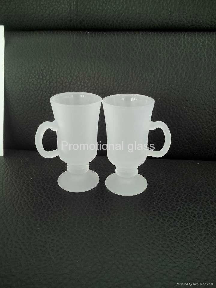 outside frosted sublimation wine  glass mug 2