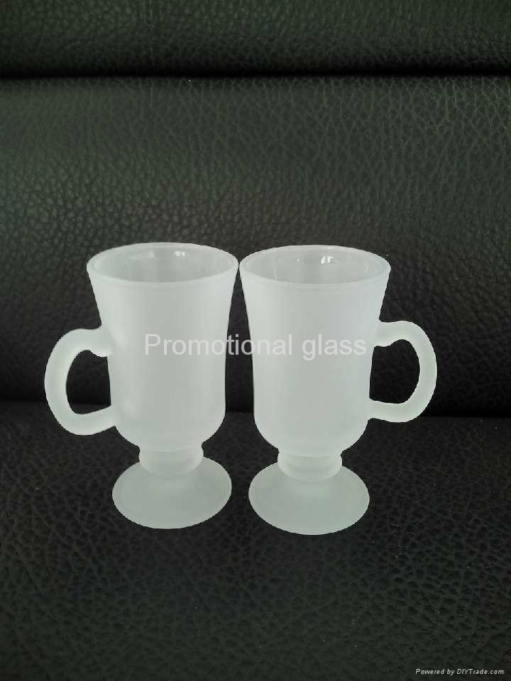 outside frosted sublimation wine  glass mug 3