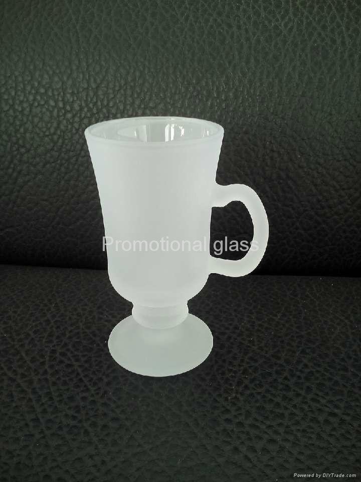 outside frosted sublimation wine  glass mug 4