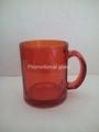11OZ Sprayed glass mug