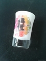 Glass tumbler , promotional glass mug 6