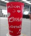 Large capacity clear maritime mug beer glass ,promotional glass mug 2