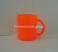 glass mug 11OZ, sublimation glass mug 3