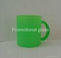 glass mug 11OZ, sublimation glass mug 4