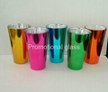 Electroplated  glass cup,promotional