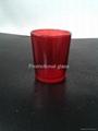 Sprayed  glass cup 3