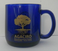 color glass mug