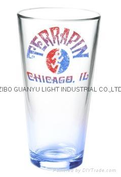 Large capacity clear maritime mug beer glass ,promotional glass mug 8