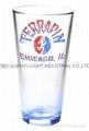 color coating glass mug , promotional glass mug 5