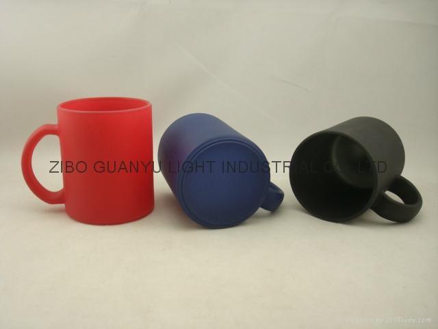 11OZ Sprayed glass mug  8
