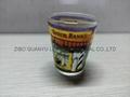 Color coating glass mug  ,promotional glass mug 6