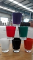 color coating glass cup Sprayed glass cup 11