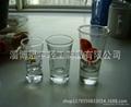 Glass tumbler , promotional glass mug 2