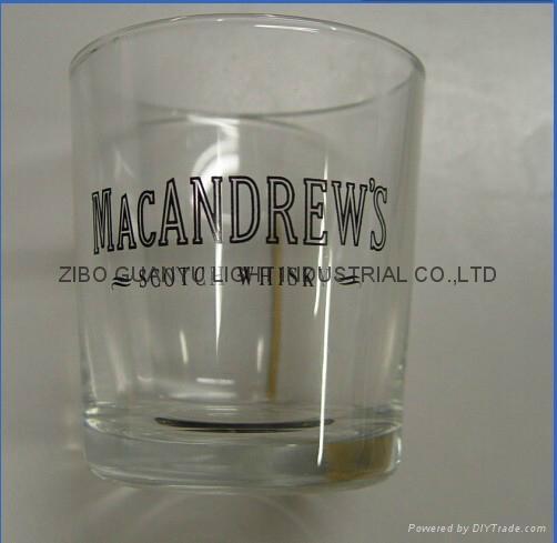 10OZ Sprayed whisky glass cup 4