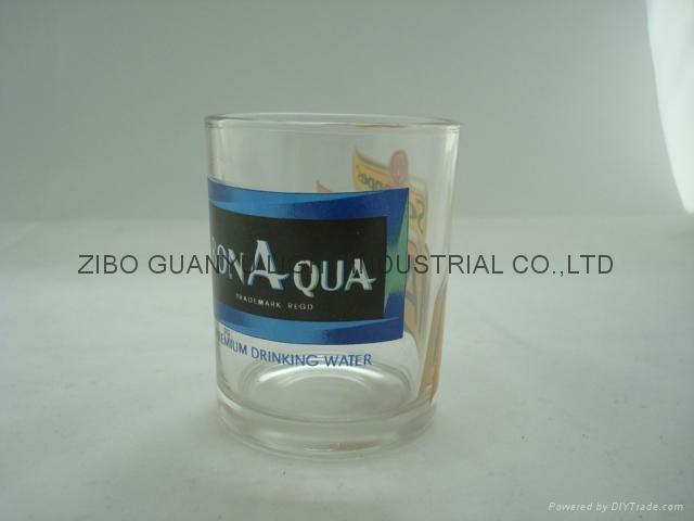 10OZ Sprayed whisky glass cup 3