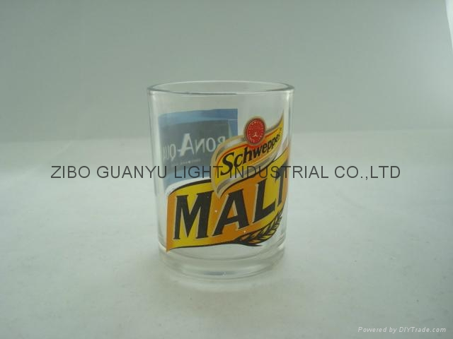 10OZ Sprayed whisky glass cup 5