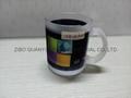 Sublimation glass mug with handle 8