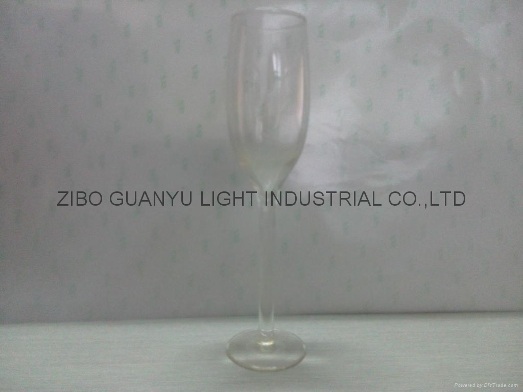 Champagne  glass ,glass cup electroplate glassware 9