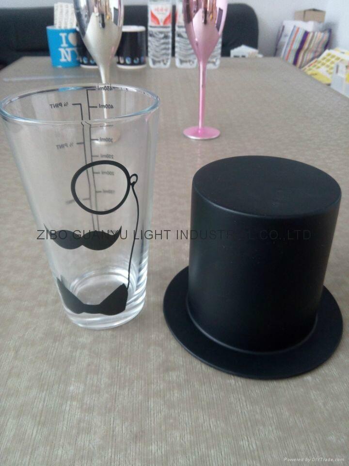 16OZ  COLA glass ,sublimation glass 4