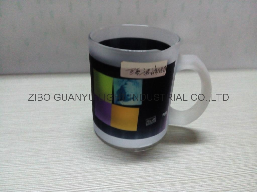 350ml sublimation glass mug 11oz 6