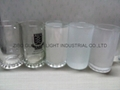 16oz sublimation & frosted  glass beer stein  3