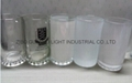 sublimation glass beer stein with handle 2
