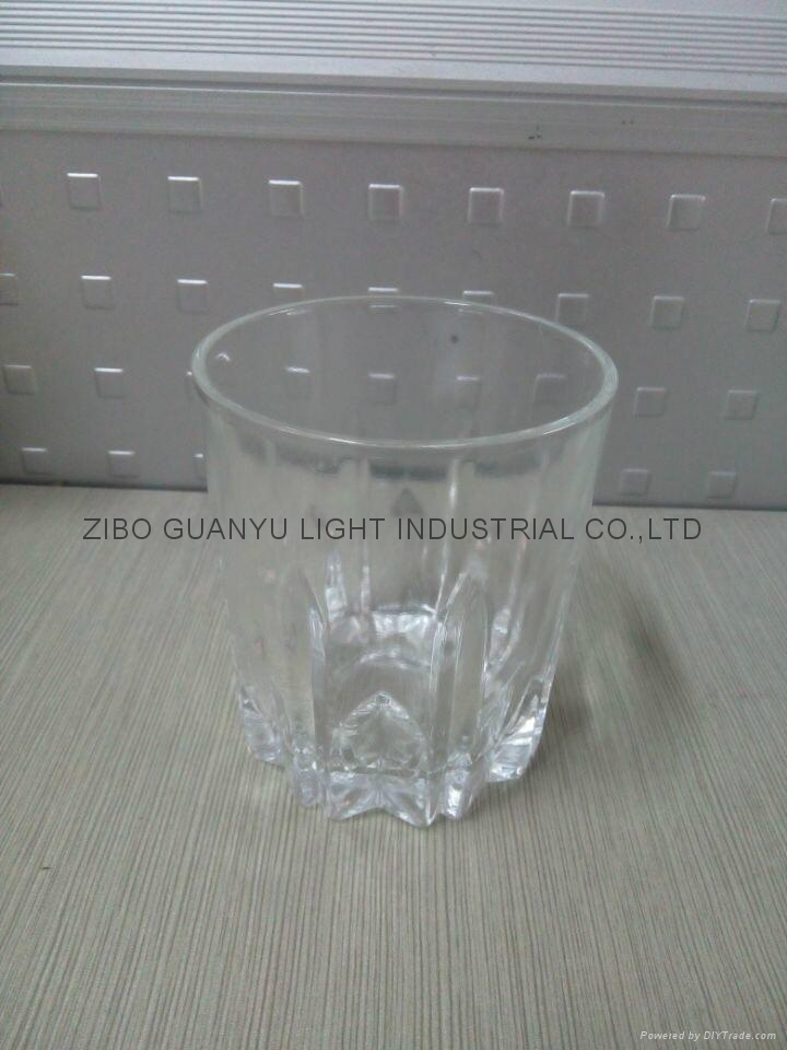 310ml Clear glass cup glassware 2