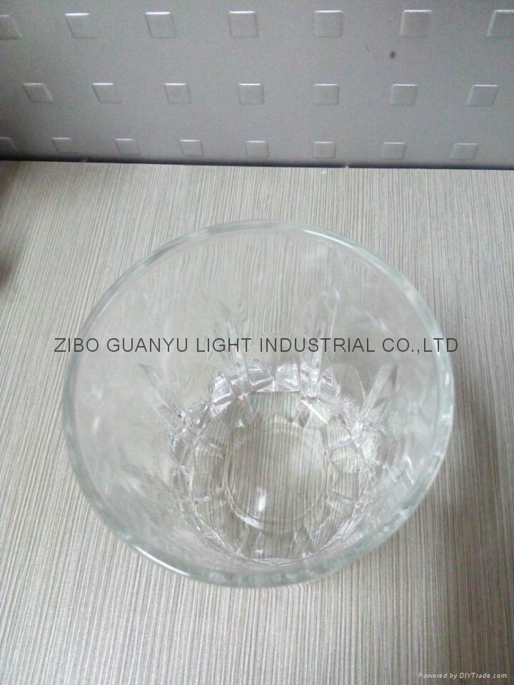 310ml Clear glass cup glassware 5