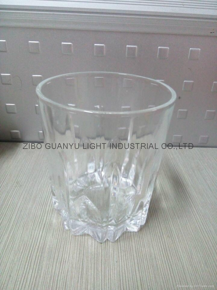 310ml Clear glass cup glassware 1