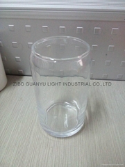 320ML Clear Glass Without handle