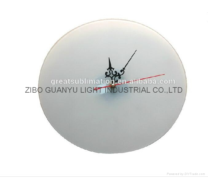 Sublimation Coating Glass Clock