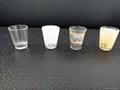 50ml sublimation  shot glass mug glassware with decal 3