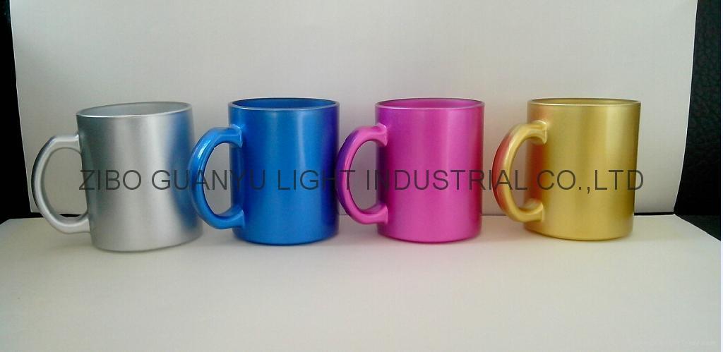 11OZ  Laser Engrared Glass Mug 1