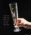 360ml Glass beer stein